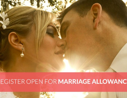 Registration is now open for UK Marriage Allowance