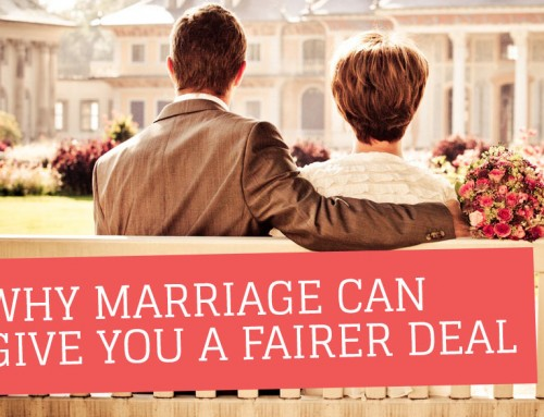 Why marriage can give you a fairer deal